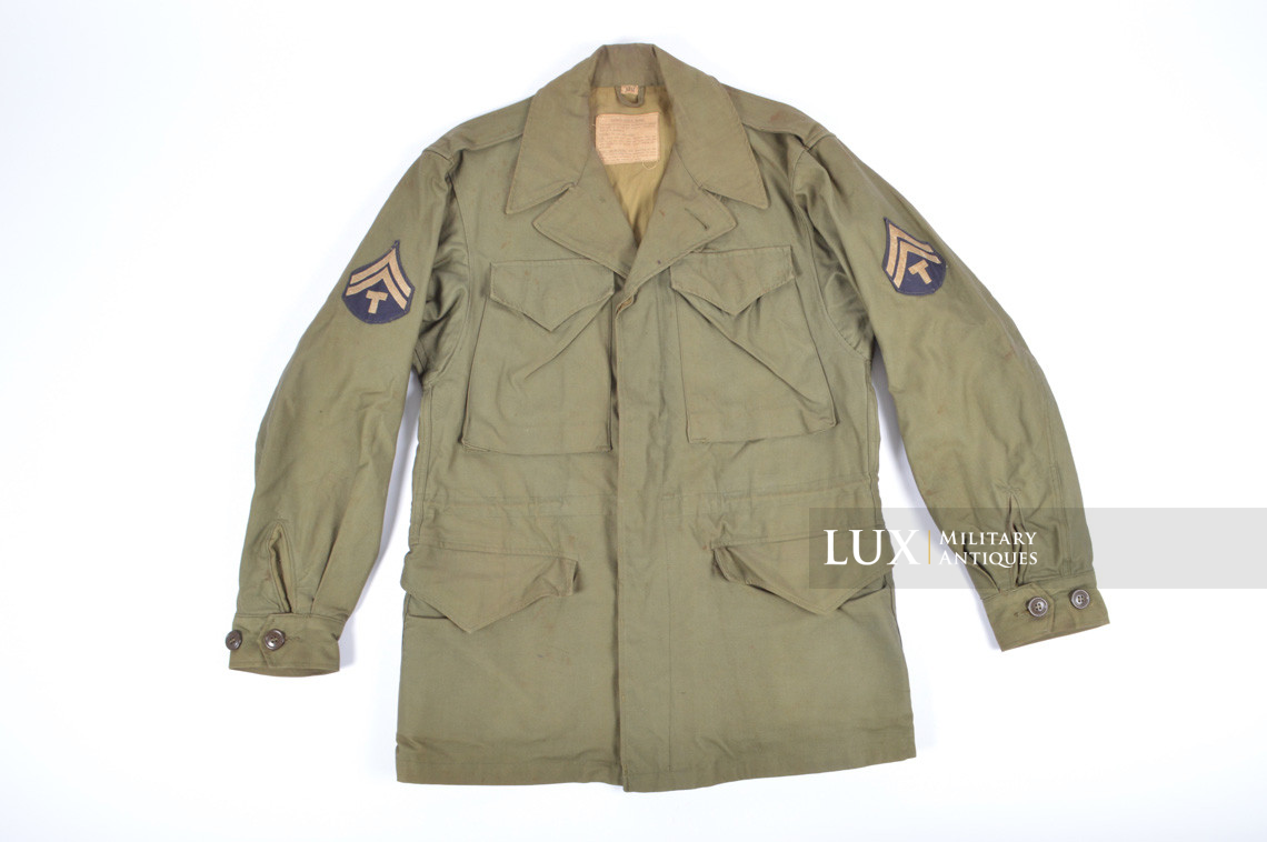 Veste US Field Jacket M43, 1er modèle - photo 4