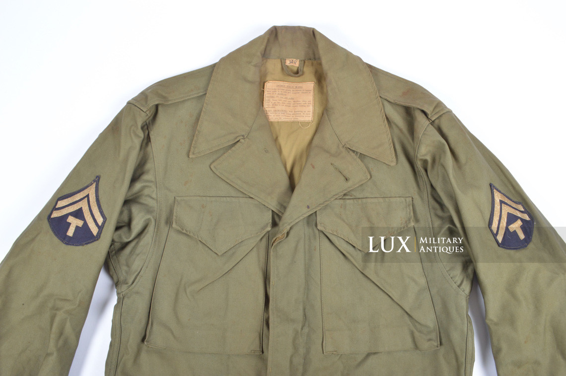 Veste US Field Jacket M43, 1er modèle - photo 8