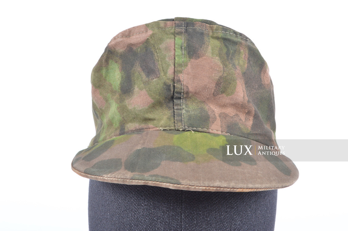 Waffen-SS issued M42 camouflage field cap - photo 9