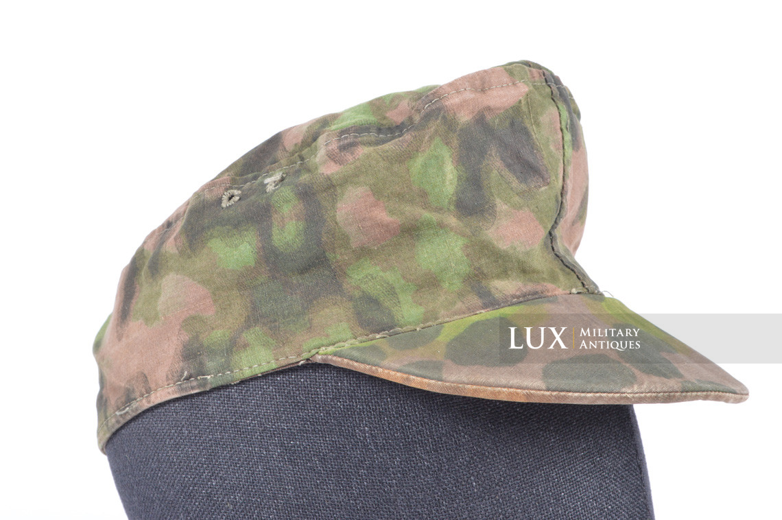 Waffen-SS issued M42 camouflage field cap - photo 10