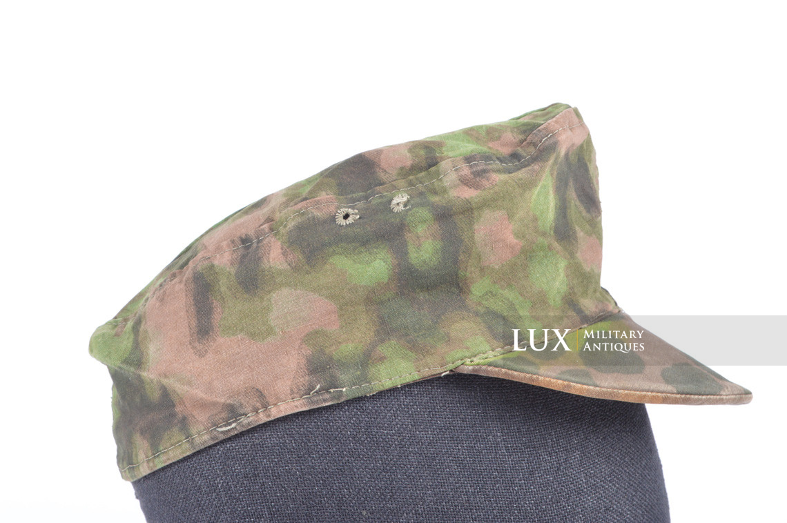 Waffen-SS issued M42 camouflage field cap - photo 11