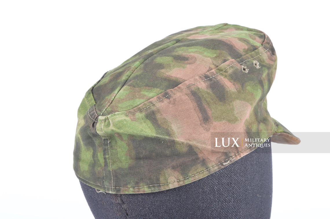 Waffen-SS issued M42 camouflage field cap - photo 12