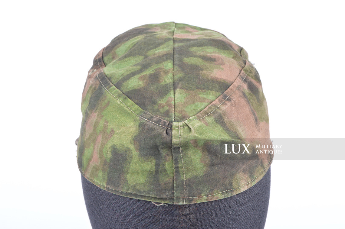Waffen-SS issued M42 camouflage field cap - photo 13