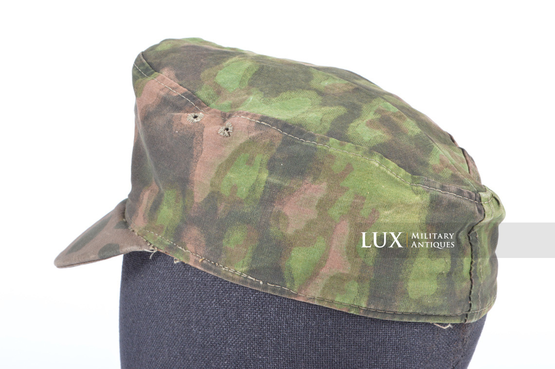 Waffen-SS issued M42 camouflage field cap - photo 14