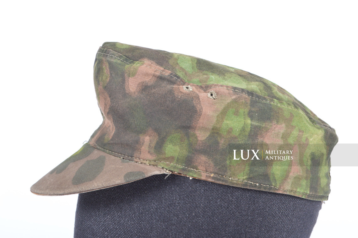 Waffen-SS issued M42 camouflage field cap - photo 15