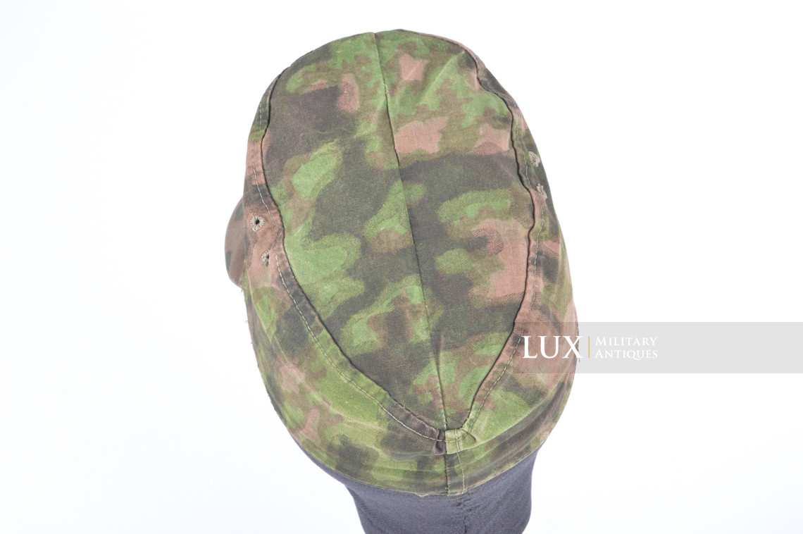 Waffen-SS issued M42 camouflage field cap - photo 16