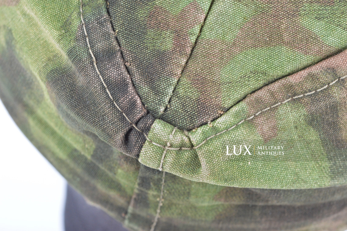 Waffen-SS issued M42 camouflage field cap - photo 27