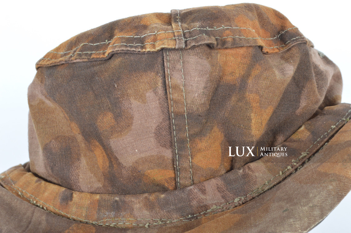 Waffen-SS issued M42 camouflage field cap - photo 36
