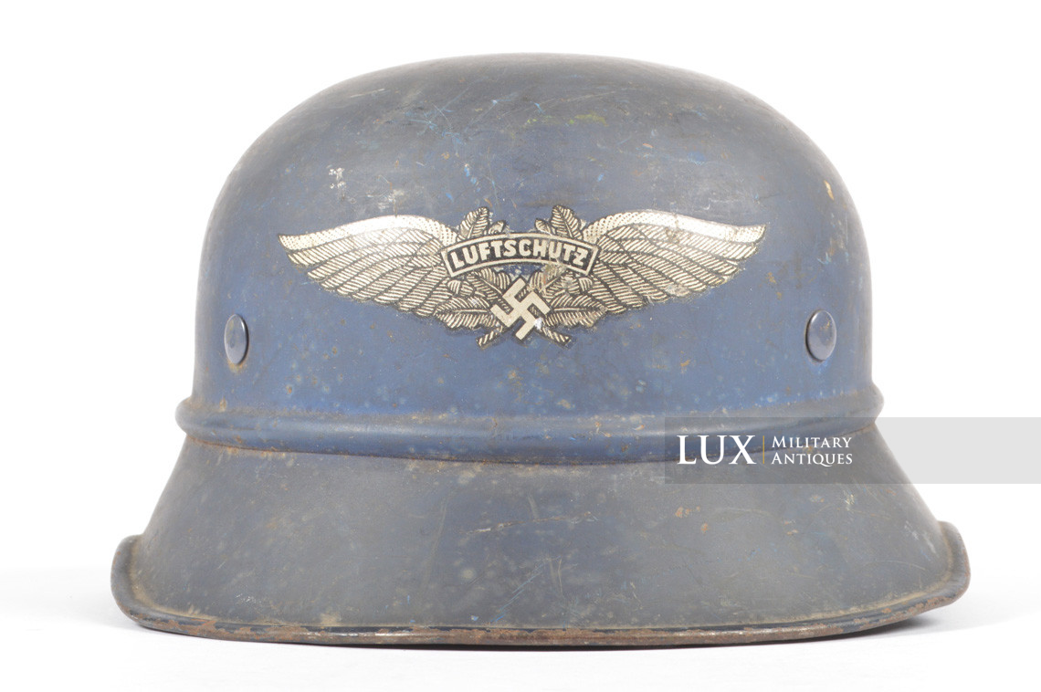 Luftschutz gladiator helmet, « untouched/as found » - photo 7