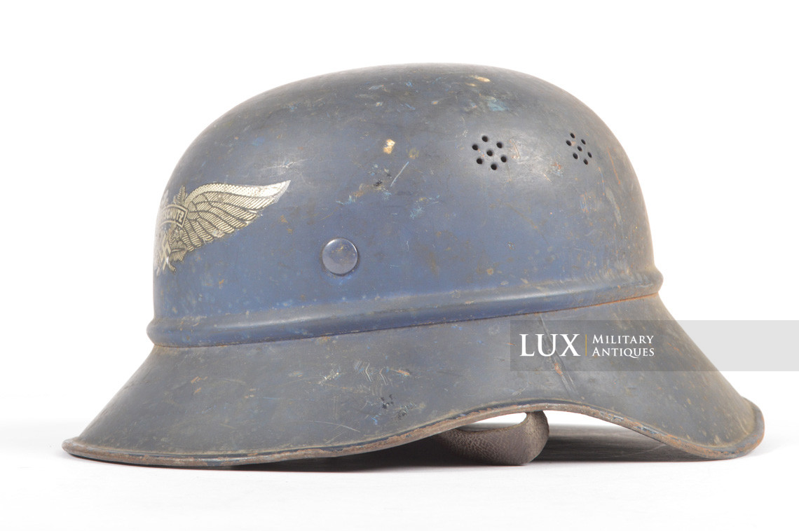 Luftschutz gladiator helmet, « untouched/as found » - photo 8