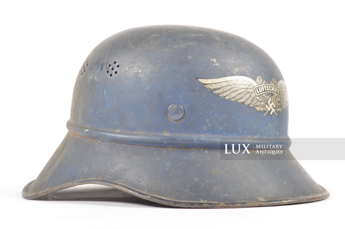 Luftschutz gladiator helmet, « untouched/as found » - photo 14