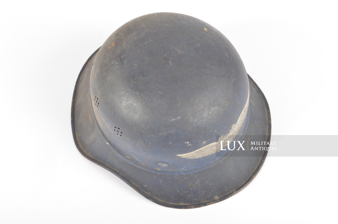 Luftschutz gladiator helmet, « untouched/as found » - photo 15
