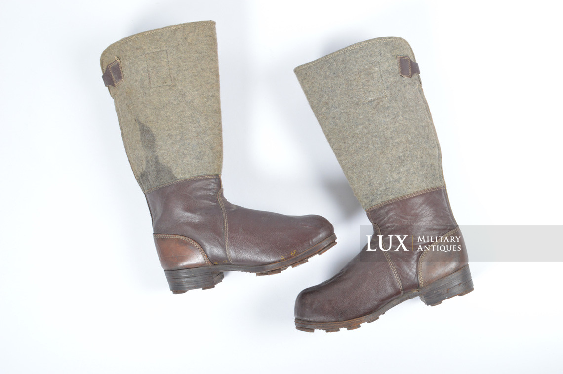 German late-war brown winter combat boots, « RBNr. » - photo 8