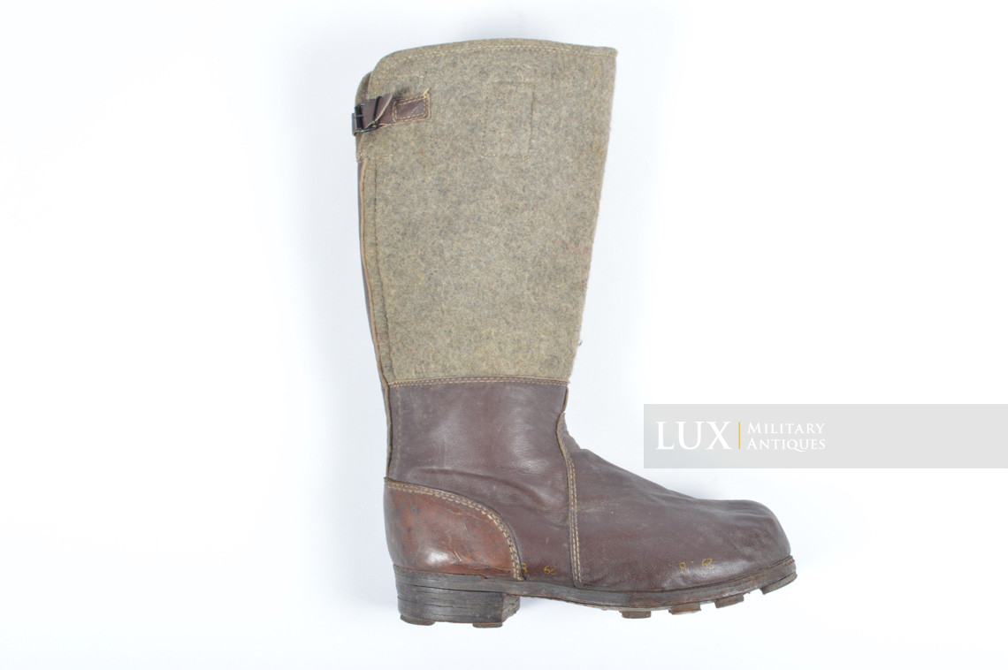 German late-war brown winter combat boots, « RBNr. » - photo 9