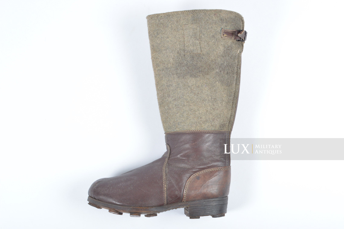 German late-war brown winter combat boots, « RBNr. » - photo 25