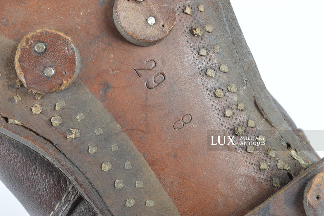German late-war brown winter combat boots, « RBNr. » - photo 39