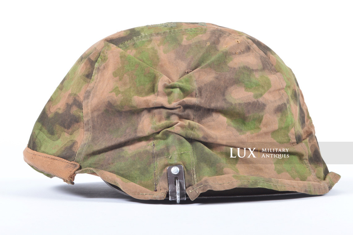 First pattern Waffen-SS blurred edge camouflage helmet cover - photo 4