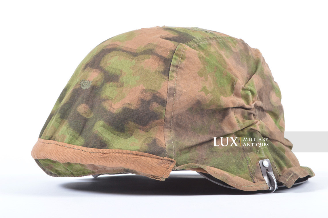 First pattern Waffen-SS blurred edge camouflage helmet cover - photo 8