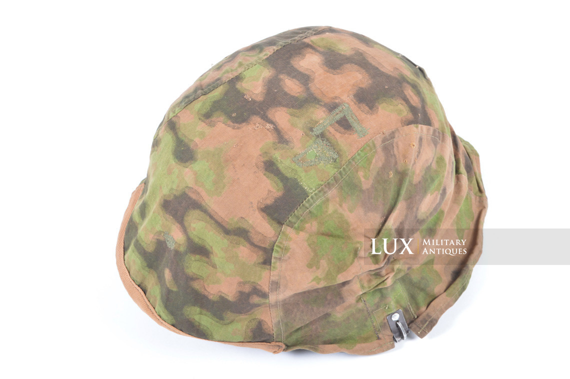 First pattern Waffen-SS blurred edge camouflage helmet cover - photo 15