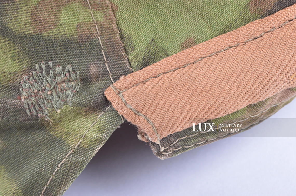 First pattern Waffen-SS blurred edge camouflage helmet cover - photo 21