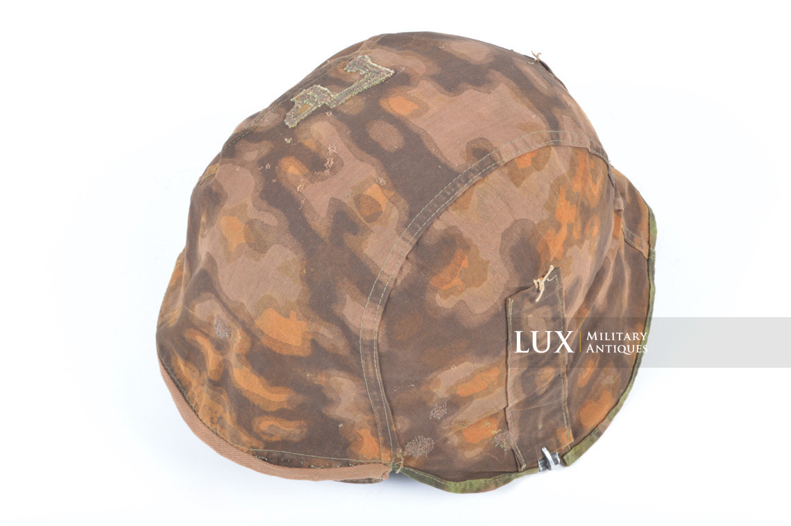 First pattern Waffen-SS blurred edge camouflage helmet cover - photo 39