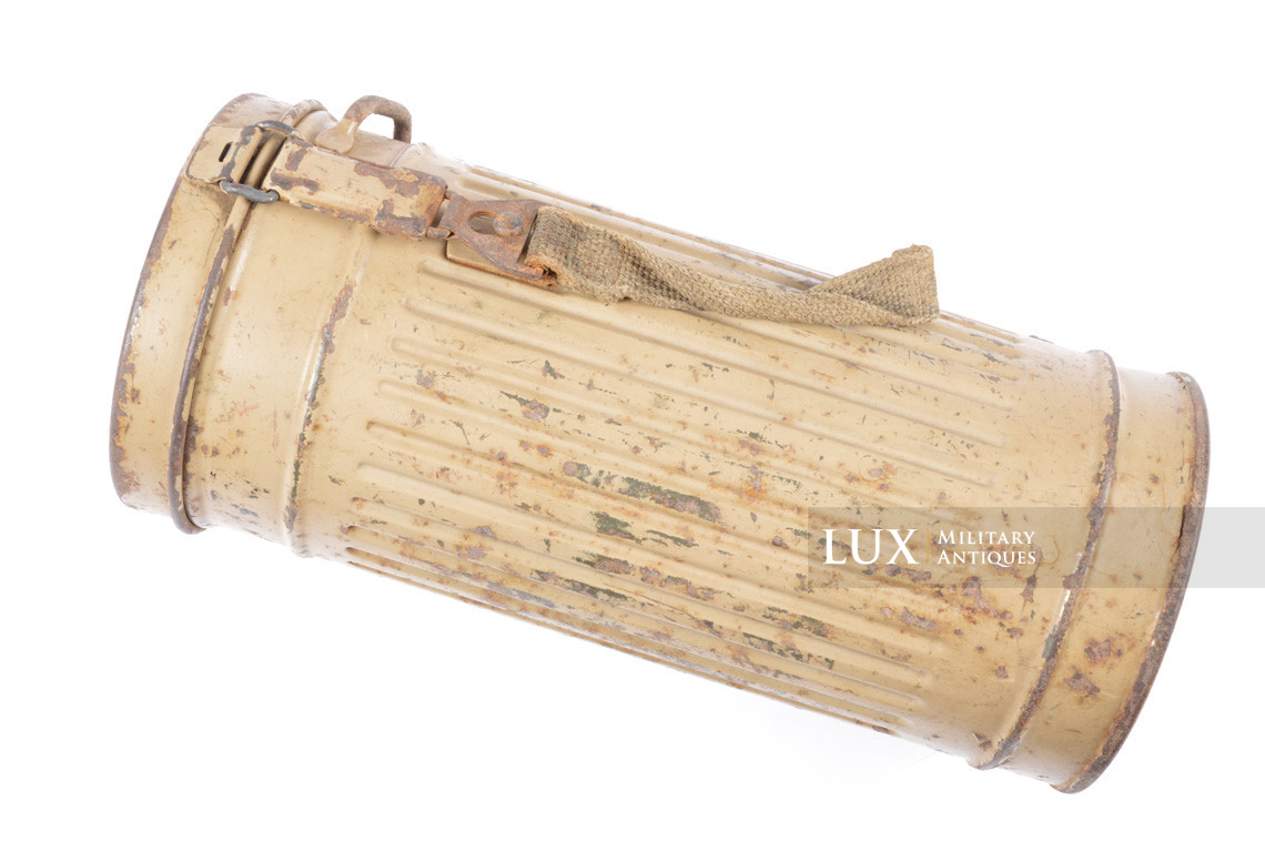German gas mask canister in tan camouflage, « eph43 » - photo 11