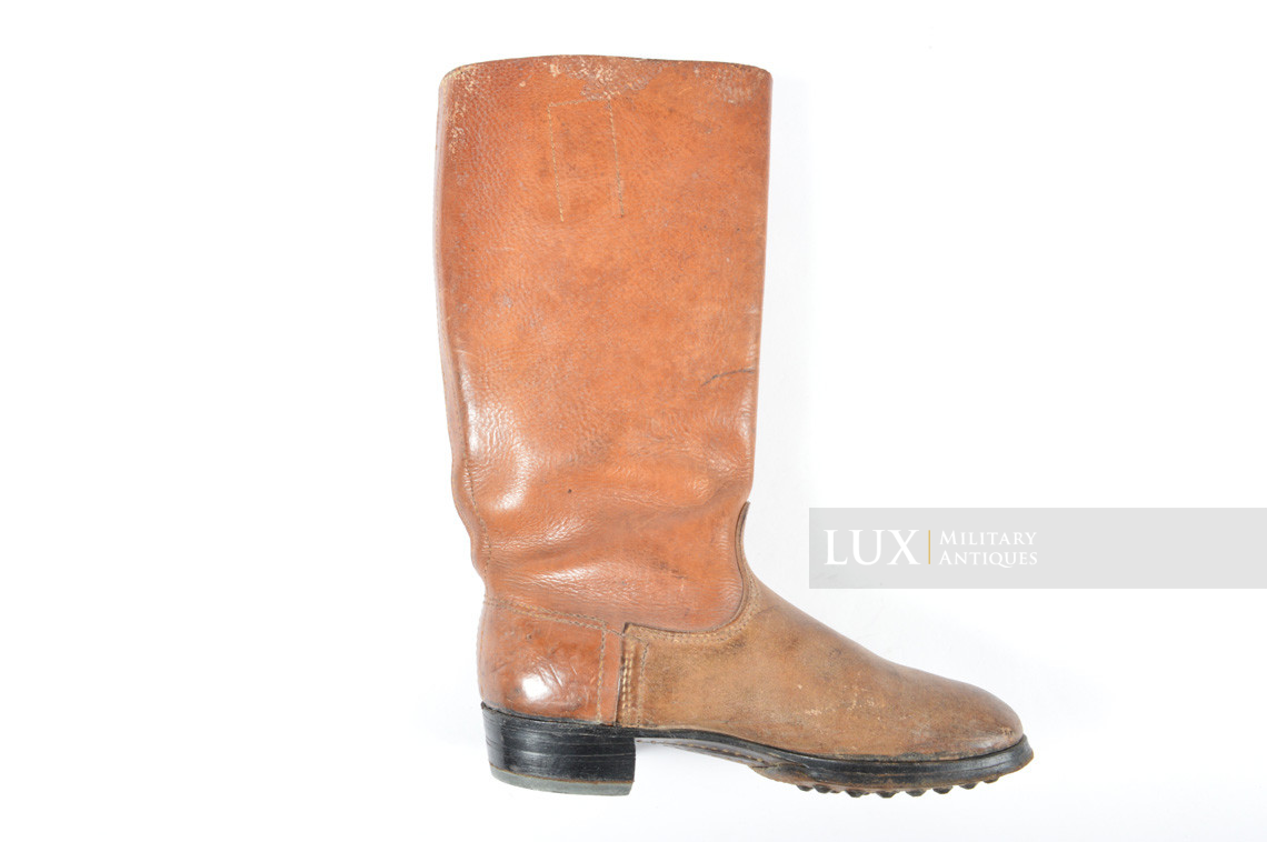 Early-war Luftwaffe issue brown jackboots, « 1939 » - photo 24