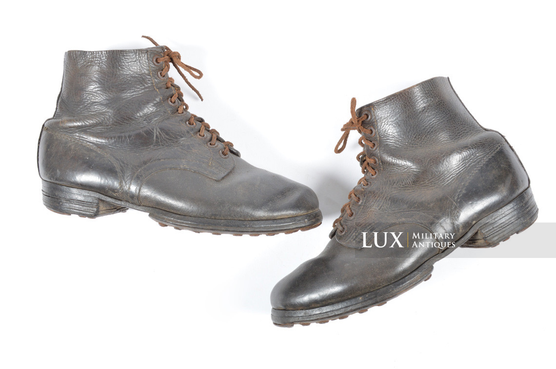 Late-war German low ankle boots - photo 4