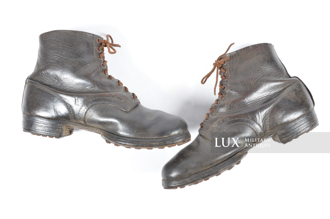 Late-war German low ankle boots - photo 8