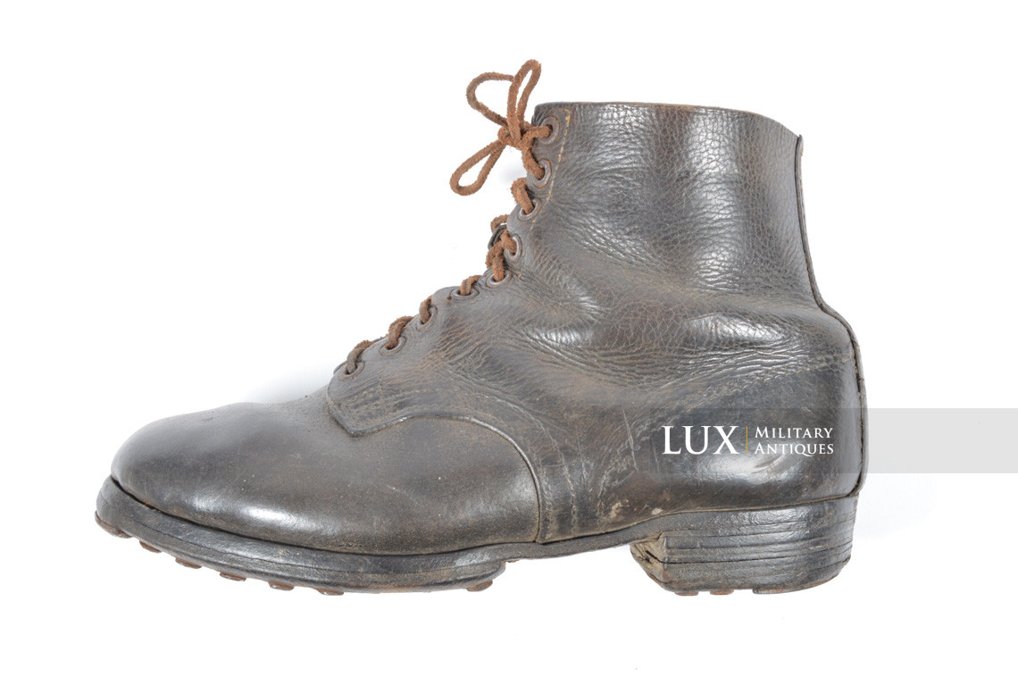 Late-war German low ankle boots - photo 9