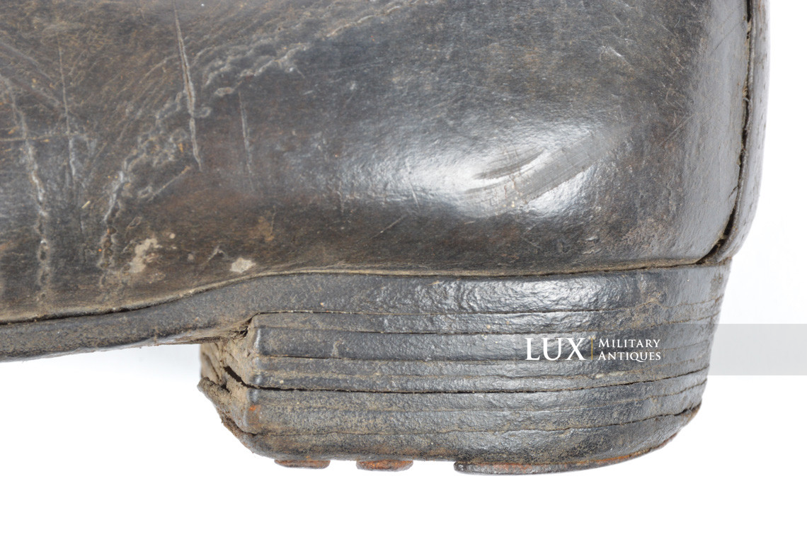 Late-war German low ankle boots - photo 11