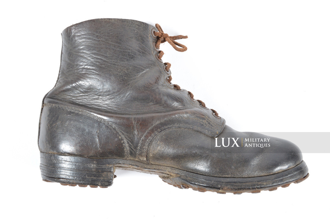 Late-war German low ankle boots - photo 13