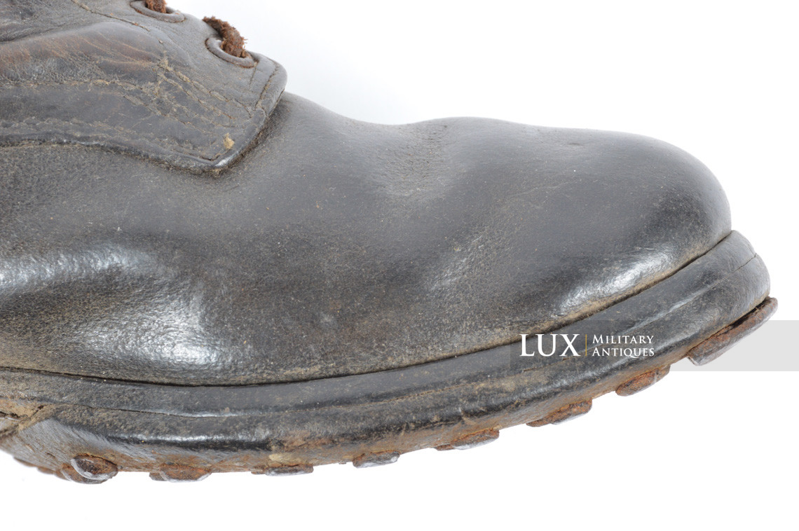 Late-war German low ankle boots - photo 15
