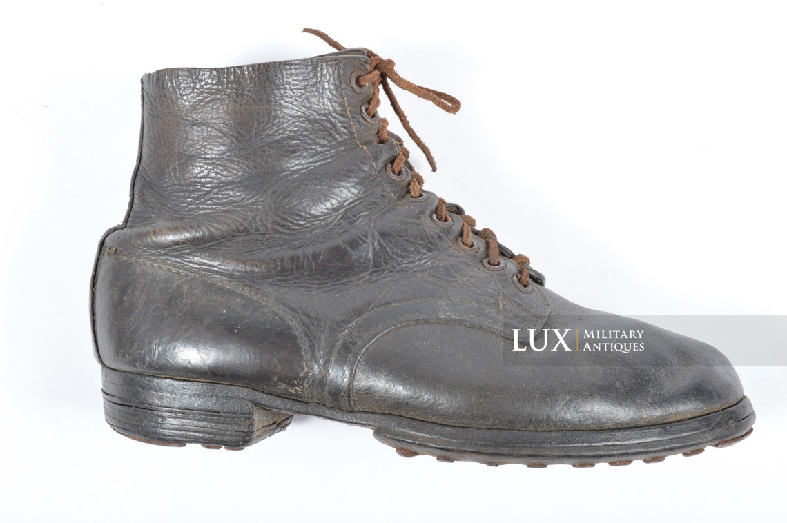 Late-war German low ankle boots - photo 21