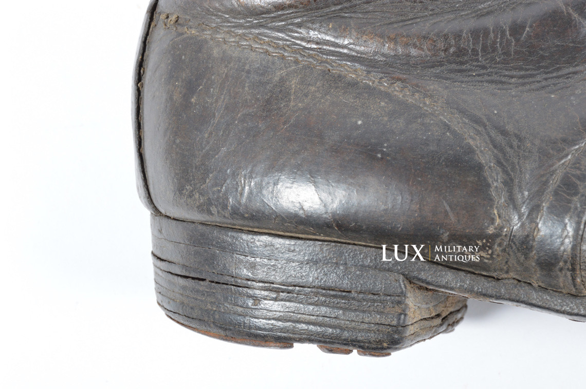 Late-war German low ankle boots - photo 23