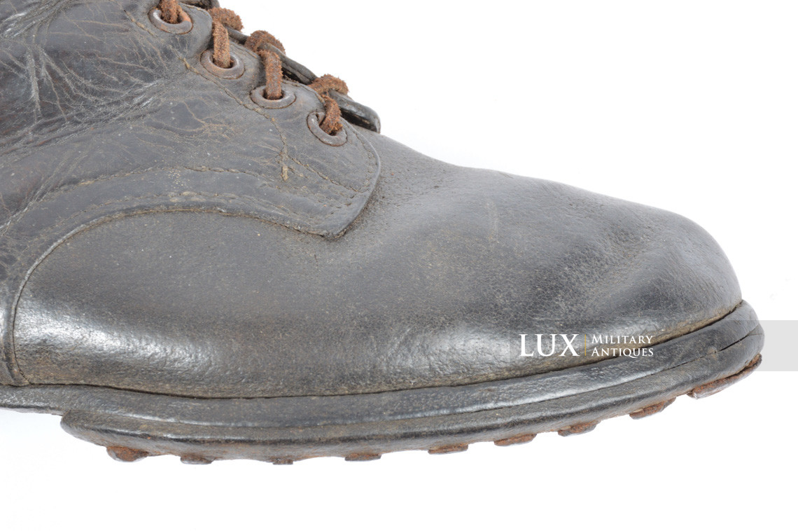 Late-war German low ankle boots - photo 24