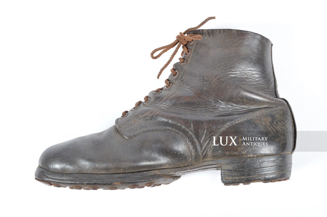 Late-war German low ankle boots - photo 25