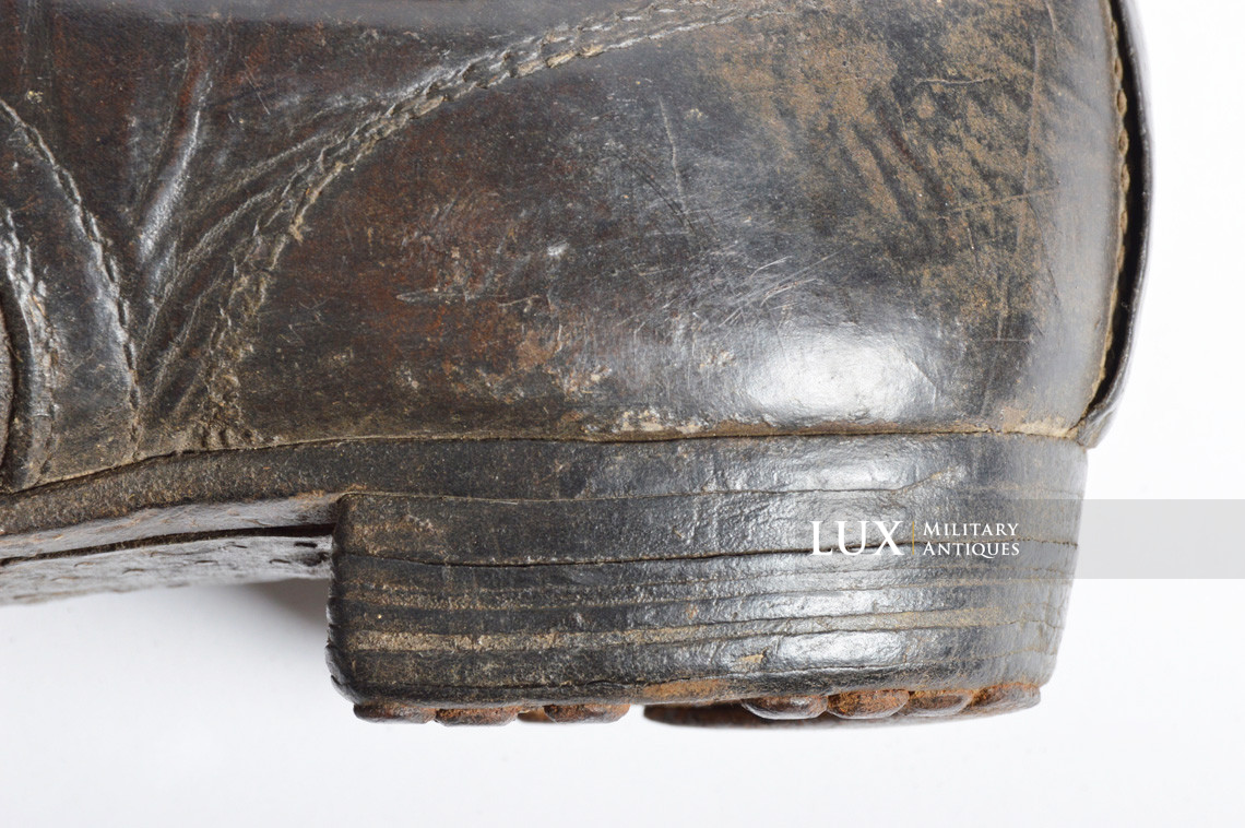 Late-war German low ankle boots - photo 27